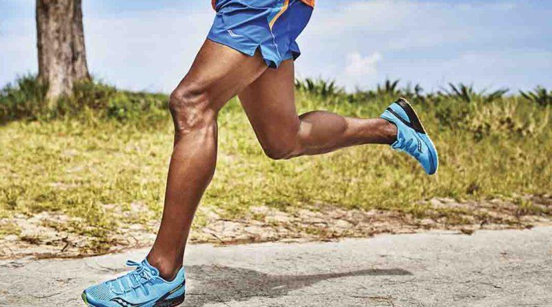 délka kroku při běhu