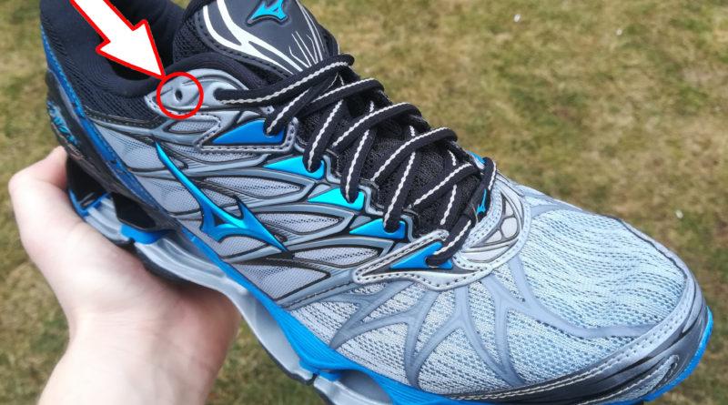 Dírka navíc v běžeckých botách