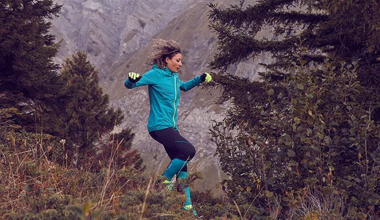 Běh z kopce rychle a bezpečně