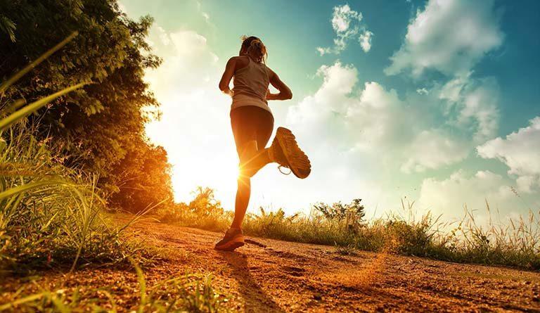 běhání na lačno