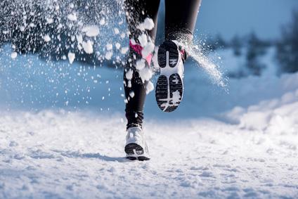 Běhání v chladném počasí
