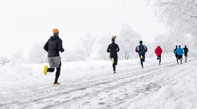 Běhání na sněhu